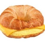 dunkin donuts Croissant Egg Cheese
